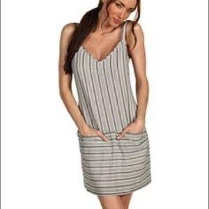"Theory ""Sially"" B&W Cotton Dress, Size 4"